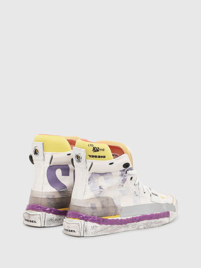 Diesel - S-ASTICO PNT W, Blanco/Rosa - Sneakers - Image 3