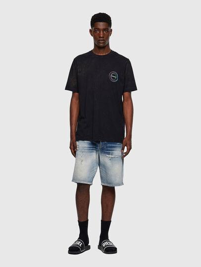 Diesel - T-JUST-E3, Negro - Camisetas - Image 4