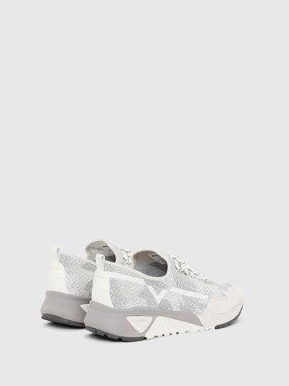 Diesel - S-KBY, Gris/Blanco - Sneakers - Image 3