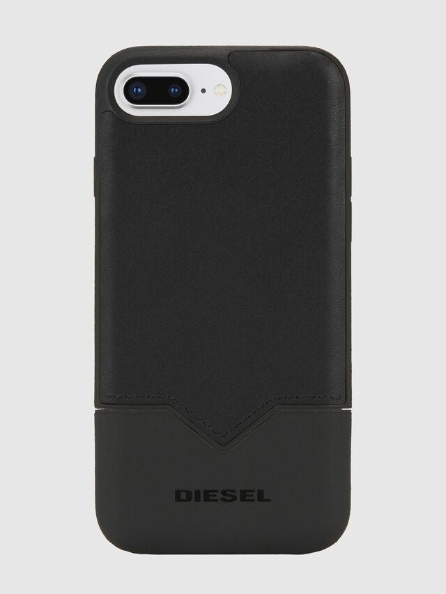 Diesel - CREDIT CARD IPHONE 8 PLUS/7 PLUS/6S PLUS/6 PLUS CASE, Negro - Fundas - Image 1
