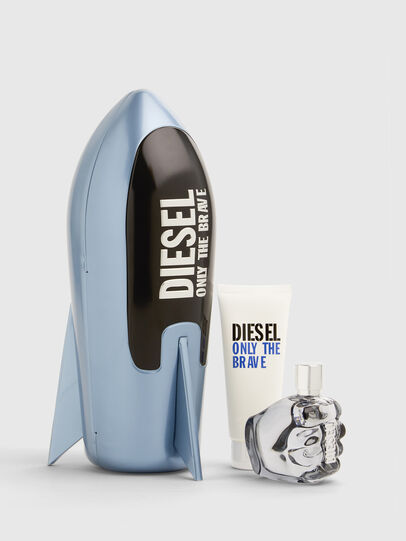 Diesel - ONLY THE BRAVE 75ML PREMIUM GIFT SET, Azul - Only The Brave - Image 1