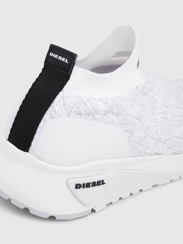 Diesel - S-KB ATHL SOCK, Blanco - Sneakers - Image 4