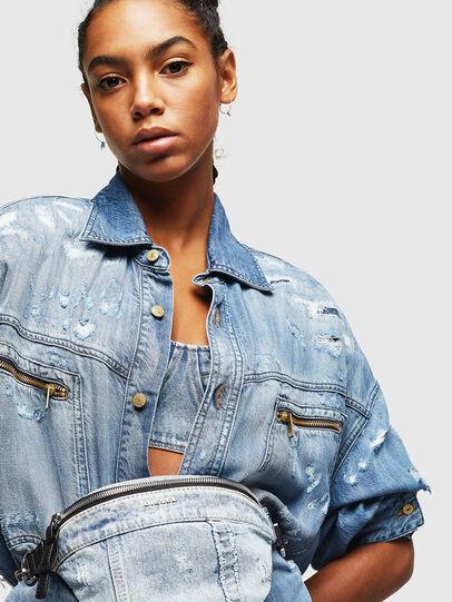 Diesel - ADRIA, Grey Jeans - Bolsas con cinturón - Image 6