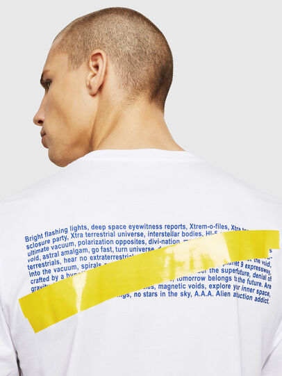 Diesel - T-JUST-A2, Blanco - Camisetas - Image 3