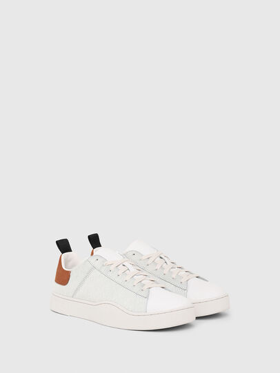 Diesel - S-CLEVER LOW LACE, Blanco/Marrón - Sneakers - Image 2