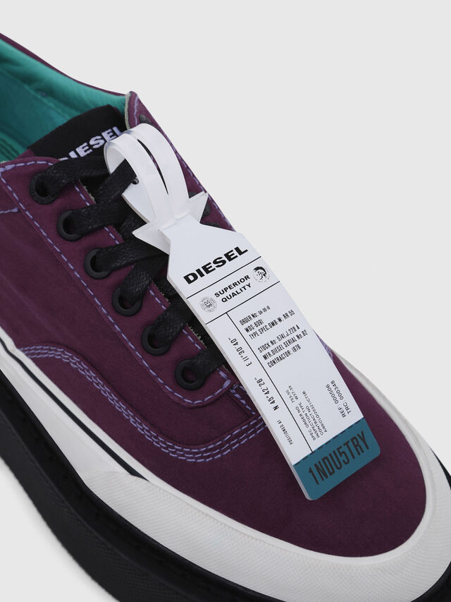 Diesel - H-SCIROCCO LOW, Violeta Oscuro - Sneakers - Image 4