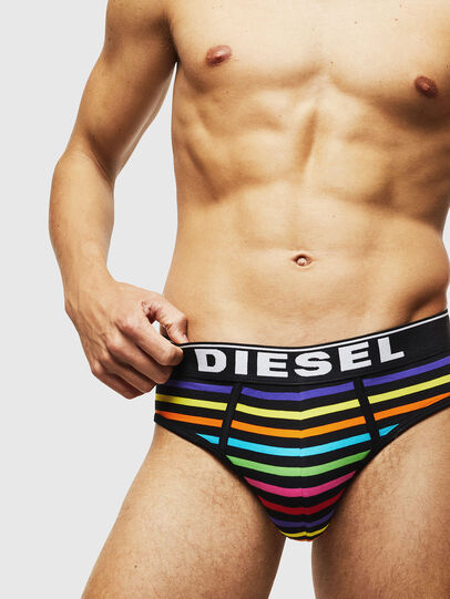 Diesel - UMBR-ANDRETHREEPACK, Multicolor/Negro - Slips - Image 4