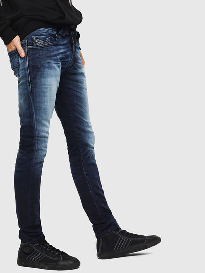Diesel - Thommer JoggJeans 069IE, Azul Oscuro - Vaqueros - Image 5