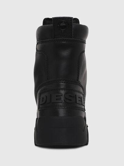Diesel - H-RUA AM, Negro - Sneakers - Image 4