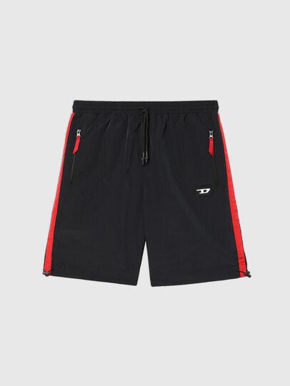 Diesel - UMLB-PANLEY, Negro/Rojo - Pantalones - Image 1