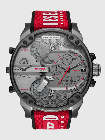 Diesel - DZ7423, Rojo/Negro - Relojes - Image 1