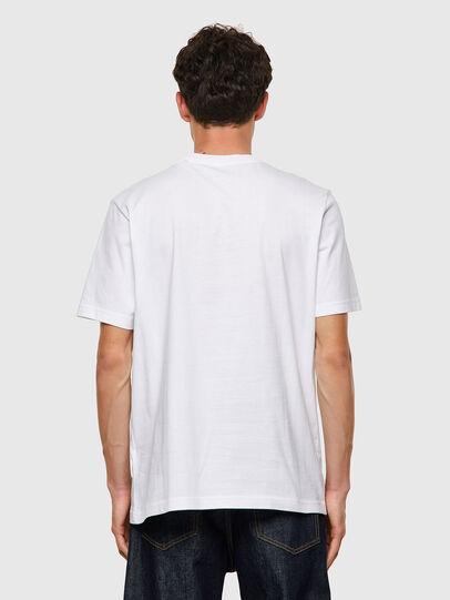 Diesel - T-JUST-B60, Blanco - Camisetas - Image 2