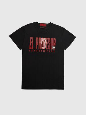 LCP-T-DIEGO-ELPROFES, Negro - Camisetas