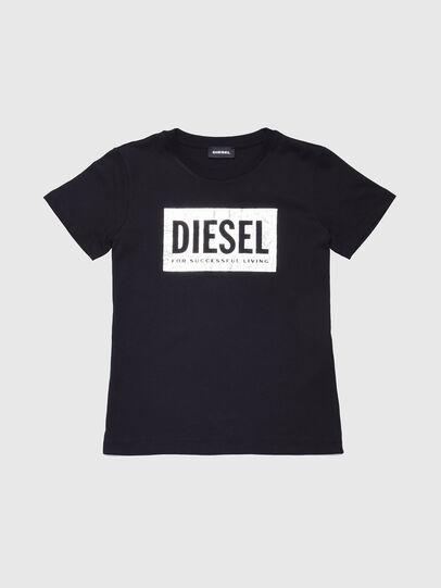 Diesel - TFOIL, Negro - Camisetas y Tops - Image 1