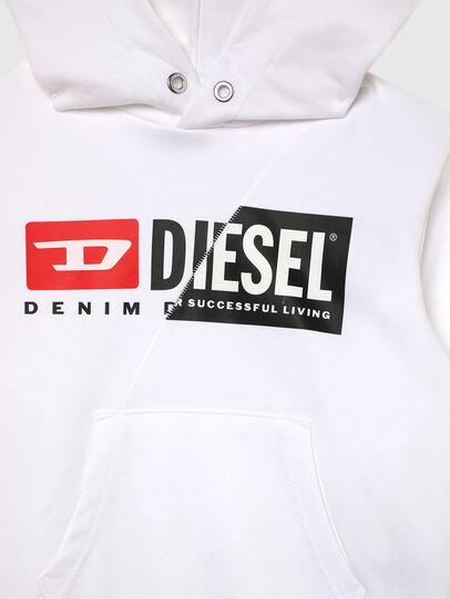 Diesel - SGIRKHOODCUTYX OVER, Blanco - Sudaderas - Image 3