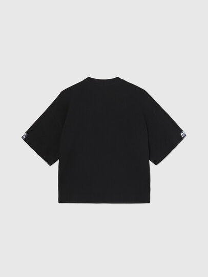Diesel - UFTEE-SHORTEE, Negro - Camisetas - Image 2