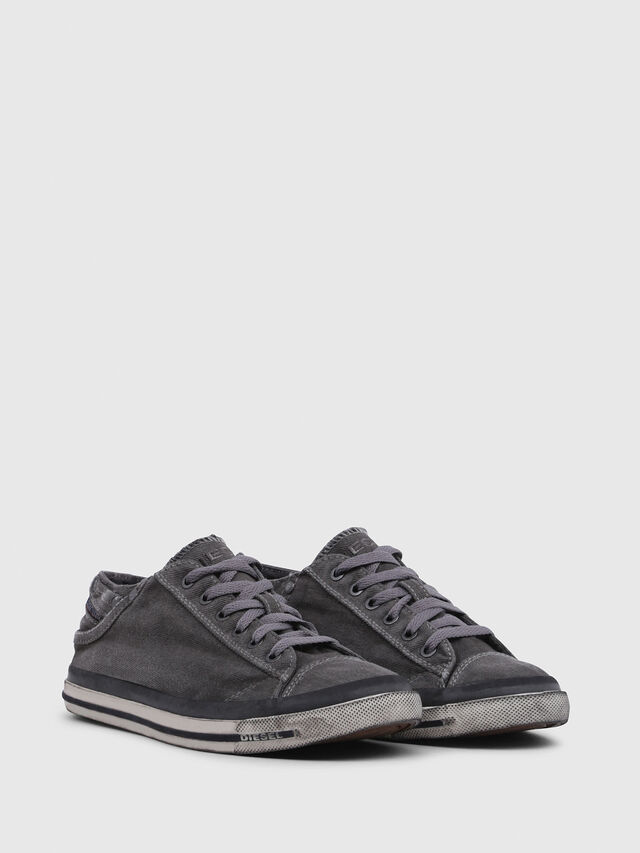 Diesel - EXPOSURE IV LOW  W, Gris Metal - Sneakers - Image 2