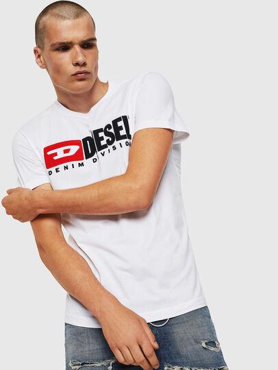 Diesel - T-DIEGO-DIVISION, Blanco - Camisetas - Image 1