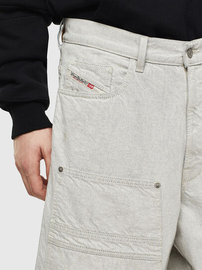 Diesel - D-RON, Blanco - Shorts - Image 3