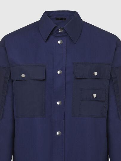 Diesel - S-AUSTIN, Azul - Camisas - Image 3