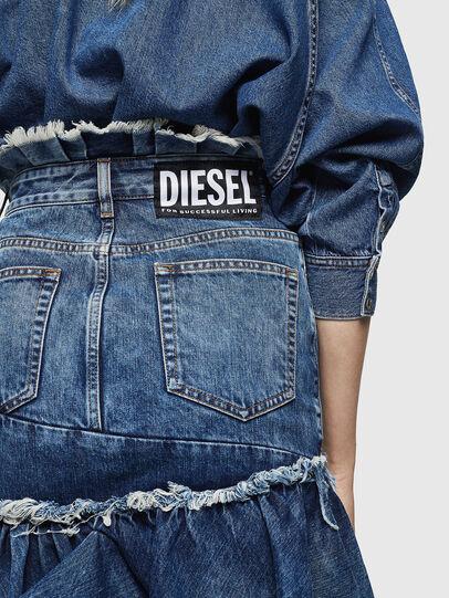 Diesel - DE-ALAYNA, Azul medio - Faldas - Image 3