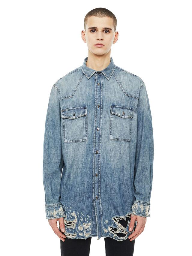 Diesel - SUVER-D, Blue Jeans - Camisas - Image 1