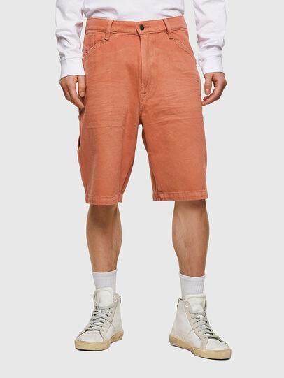 Diesel - D-FRANKY-SHORT-SP, Naranja - Shorts - Image 1
