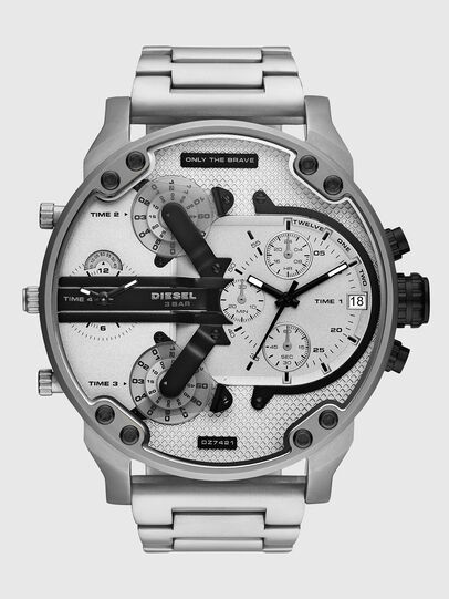 Diesel - DZ7421, Plateado/Noir - Relojes - Image 1