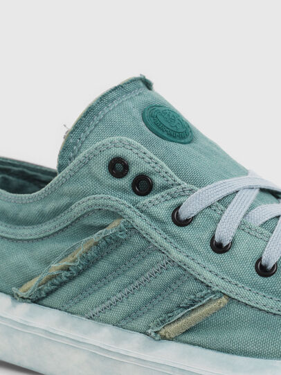 Diesel - S-ASTICO LOW LACE, Verde Agua - Sneakers - Image 5