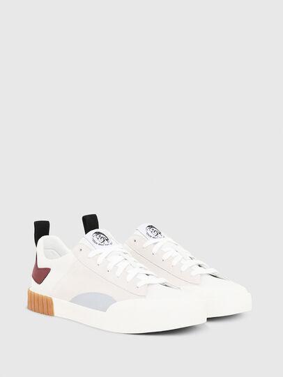 Diesel - S-BULLY LC, Blanco/Rojo - Sneakers - Image 3