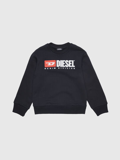 Diesel - SCREWDIVISION OVER, Negro - Sudaderas - Image 1