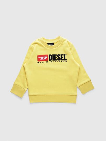 Diesel - SCREWDIVISIONB-R, Amarillo - Sudaderas - Image 1