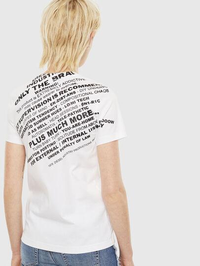 Diesel - T-SILY-S1, Blanco - Camisetas - Image 2