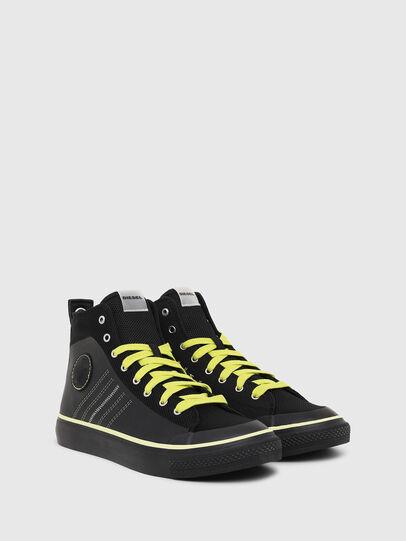 Diesel - S-ASTICO MC H, Negro/Amarillo - Sneakers - Image 2