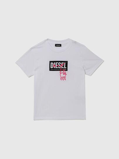 Diesel - TUDARICAT, Blanco - Camisetas y Tops - Image 1
