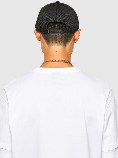 Diesel - T-FONTAL, Blanco - Camisetas - Image 4