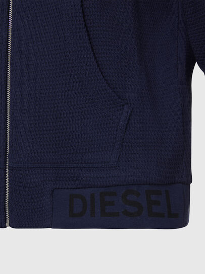 Diesel - S-ELECTRUM, Azul Noche - Sudaderas - Image 3