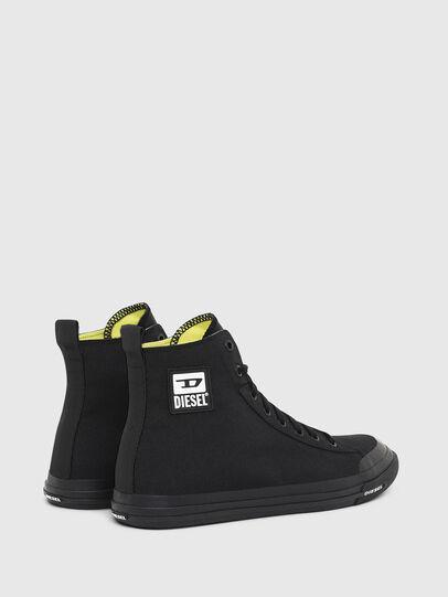 Diesel - S-ASTICO MID CUT, Negro - Sneakers - Image 3