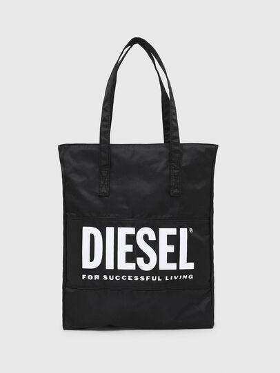 Diesel - BBAG-TOTE, Negro - Accesorios de playa - Image 1
