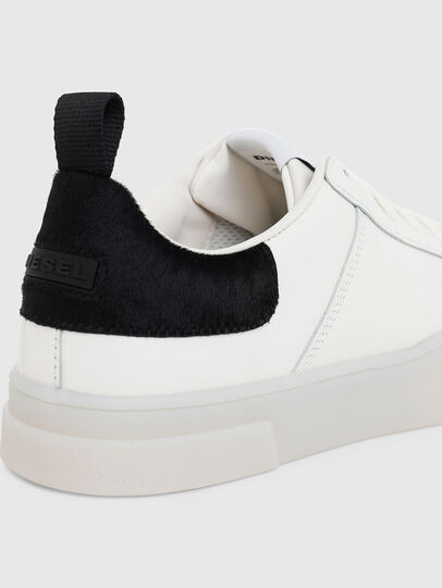 Diesel - S-CLEVER LOW LACE, Blanco/Negro - Sneakers - Image 4