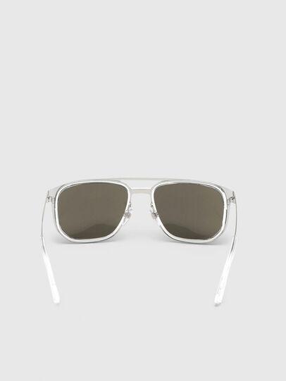 Diesel - DL0294, Blanco/Negro - Gafas de sol - Image 4