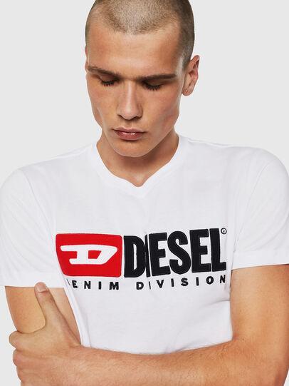 Diesel - T-DIEGO-DIVISION, Blanco - Camisetas - Image 3