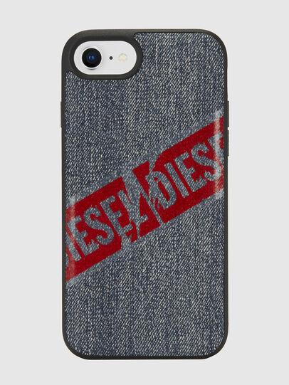 Diesel - VINTAGE DENIM IPHONE 8/7/6S/6 CASE, Blue Jeans - Fundas - Image 2