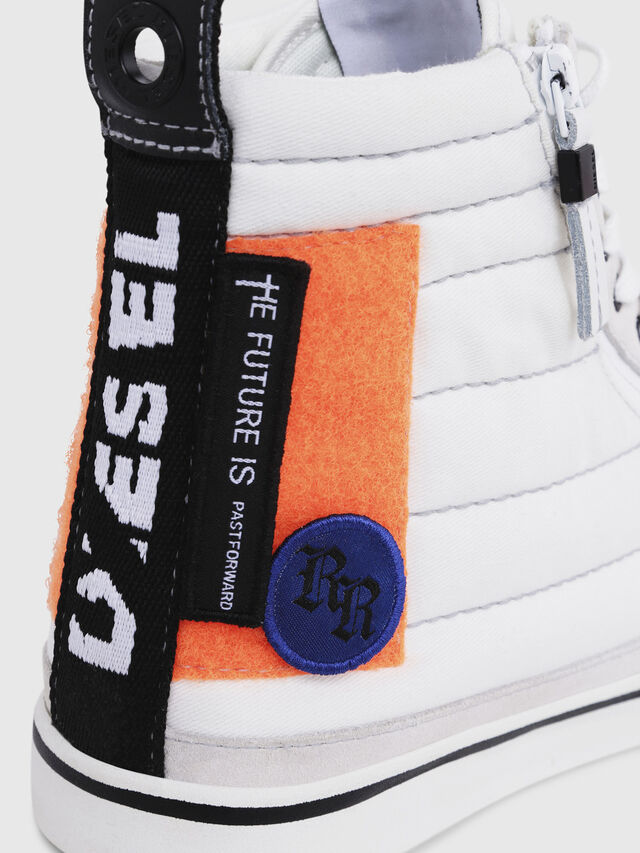 Diesel - D-VELOWS MID PATCH, Multicolor/Blanco - Sneakers - Image 5