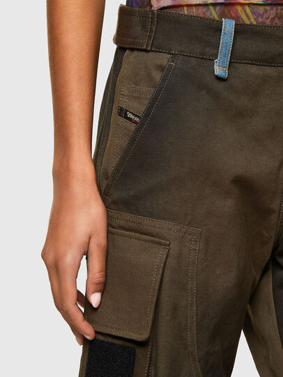Diesel - P-JANE, Verde Militar - Pantalones - Image 3