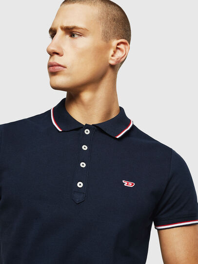 Diesel - T-RANDY-NEW, Azul Oscuro - Polos - Image 3