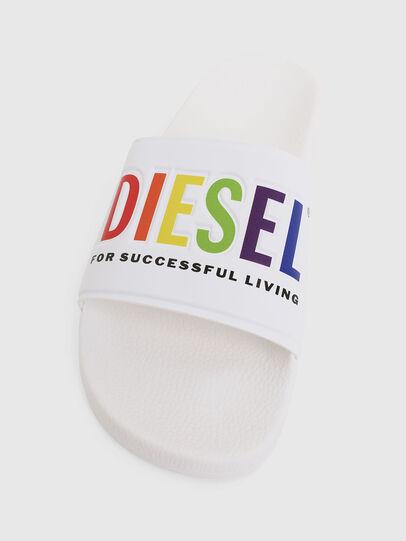 Diesel - SA-VALLA, Blanco - Chanclas - Image 5