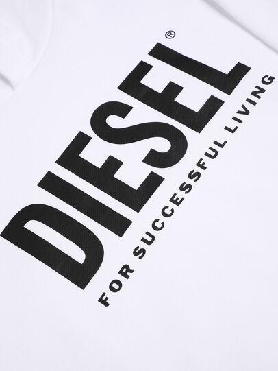 Diesel - SDIVISION-LOGO OVER, Blanco - Sudaderas - Image 3