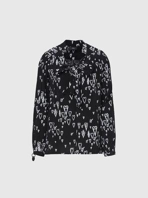 C-DUANE, Negro - Camisas