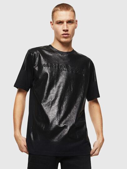 Diesel - T-JUST-J1, Negro - Camisetas - Image 1